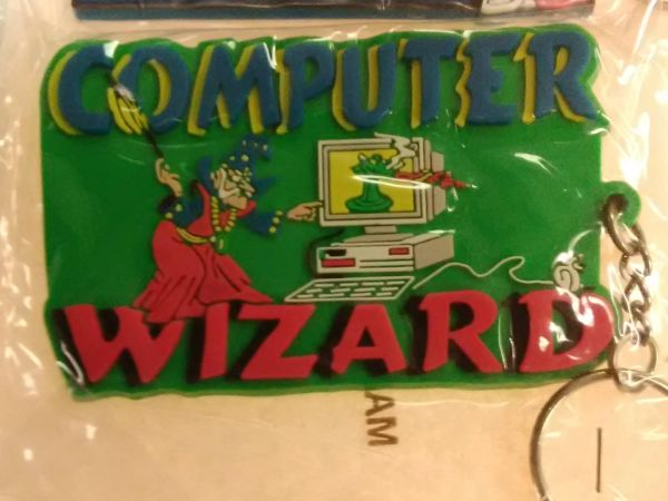 Computer Wizard Keychain CWK
