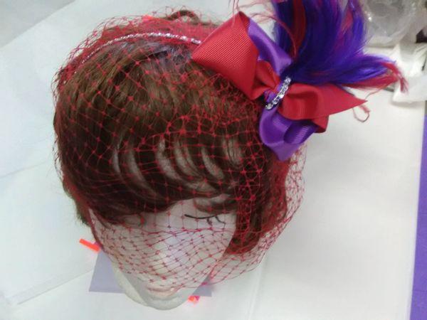 Headband with Veil #2464