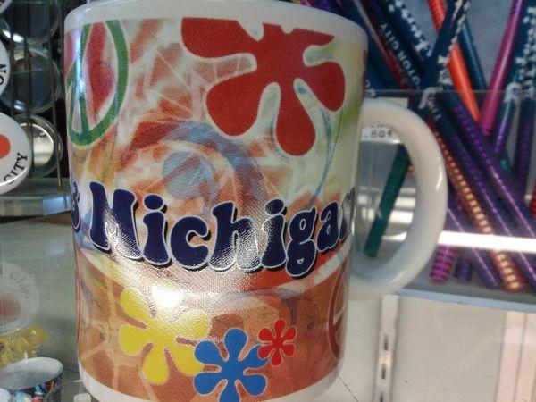 Michigan Peace Mug MPM
