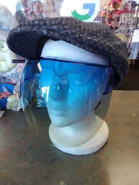 Blue Sunglass Visor BSV