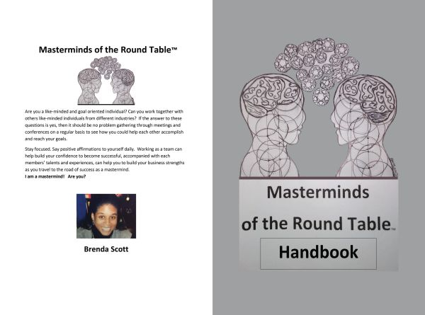 """Masterminds of the Round Table Handbook MRTH """"NEW RELEASE"""""""