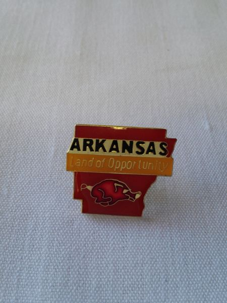 Arkansas Lapel Pin
