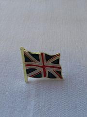 British Lapel Pin