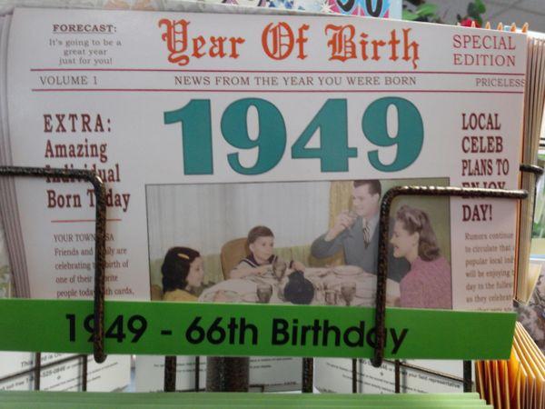 YOB Cards 1940-1949