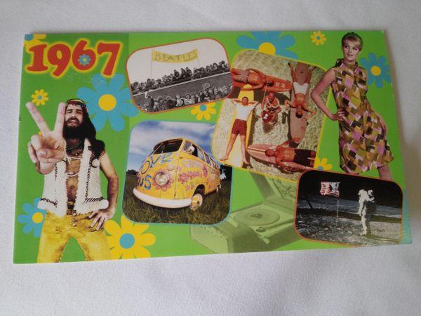 YOB Cards 1960-1969