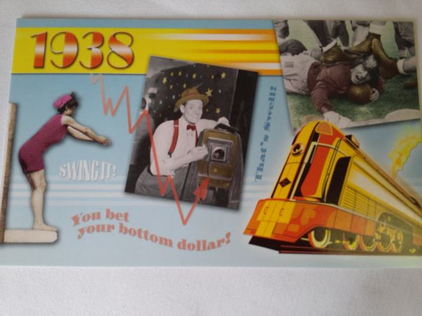 YOB Cards 1930-1939