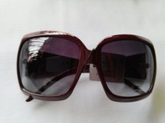 Brown Squared Fashion Sunglasses