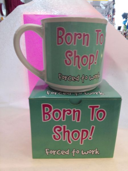 Born to Shop Mug