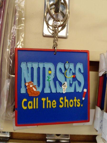 Nurse Keychain