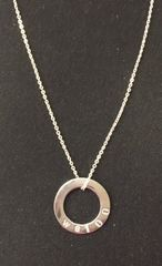 WS100 Sterling Silver Necklace