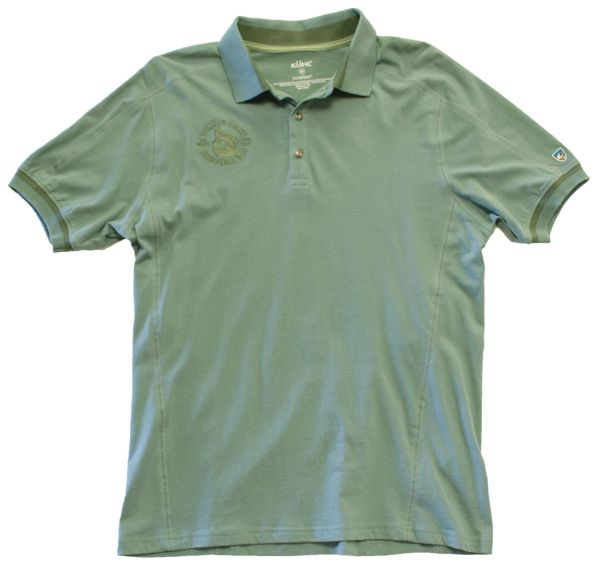 Men's Kuhl Edge Polo Short Sleeve - Desert Sage