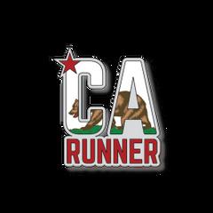 """CA Runner - Flag - 4.25"""""""