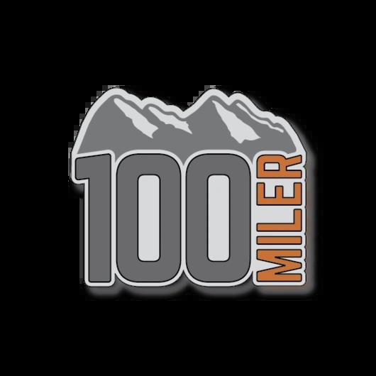 Mountain 100 Miler Sticker