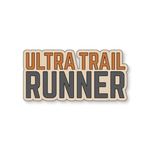Ultra Trail Runner Sticker