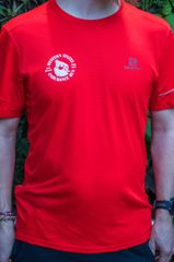 Men's Salomon Agile SS Tee Red