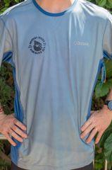 Men's Columbia Solar Chill Short Sleeve Tee Blue