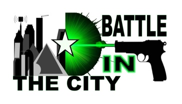 BATTLE  IN THE CITY ELITE  LASER TAG!