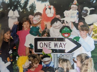 In 1984 St. John's began a puppet ministry lead by a group of volunteers.  Through the years, His Ha