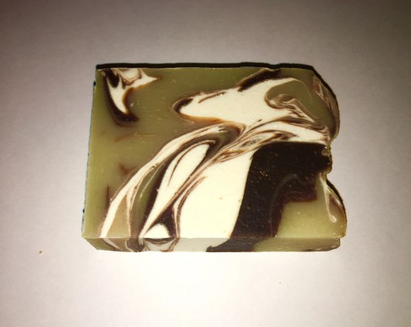ALL NATURAL FRANKINCENSE AND MYRRTH SOAP