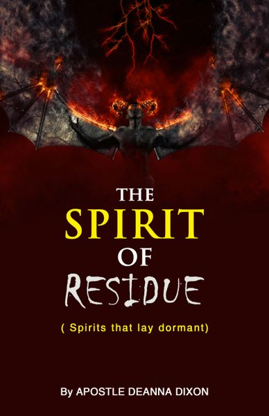 PRE-ORDER A POWERFUL BOOKLET -THE SPIRIT OF RESIDUE OF HIDDEN SPIRITS