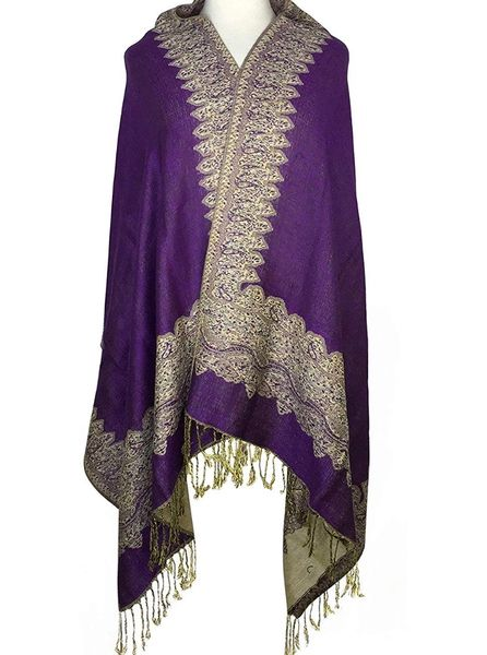 ANOINTED PRAYER SHAWLS BY APOSTLE DEANNA DIXON-PURPLE-DARK BLUE-PINK-PLEASE SELECT COLOR