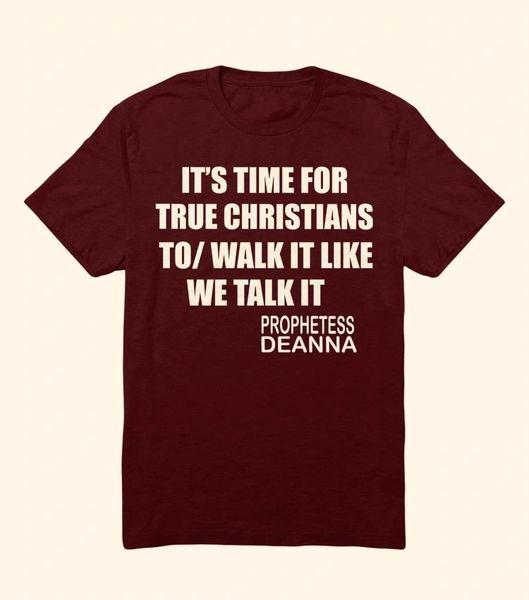 WALK IT LIKE YOU TALK IT CHRISTIAN T-SHIRT