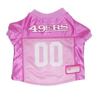Football Jersey - SF Pink 49er