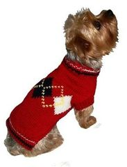 Sweater - Red Argyle