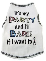 Tee Shirt - It's My Party