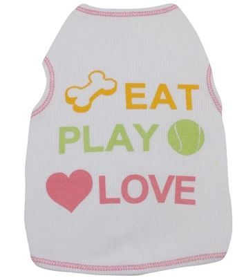 Tee Shirt - Eat Play Love