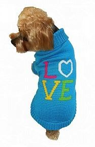 Sweater - Turquoise Love