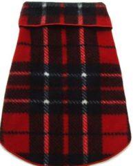 Fleece - Red Blanket Plaid Pullover