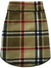 Fleece - Camel Blanket Plaid Pullover