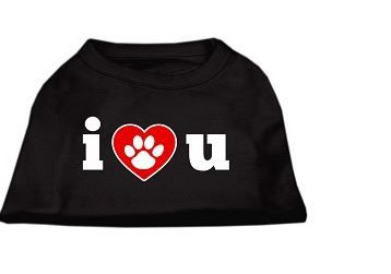 Tee Shirt - I Love You Screen Print