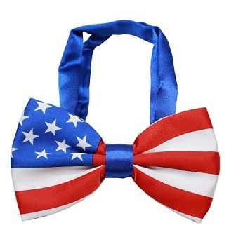 Bow Tie - American Flag