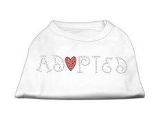 Tee Shirt - Adopted Rhinestone