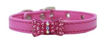 Dog Collar - Bow-dacious Crystal in Four Colors
