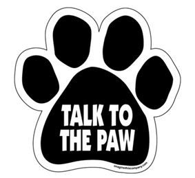 Magnet - Talk To The Paw