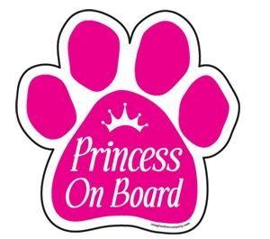 Magnet - Princess On Board