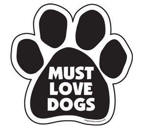 Magnet - Must Love Dogs
