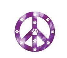 Magnet - Purple Peace