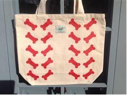 Tote Bag - Double Red Bones