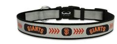 Dog Collar - SF Giants Reflective Nylon