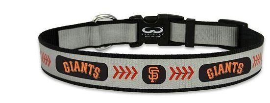 Dog Collar - SF Giants Reflective Nylon