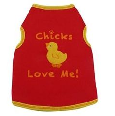 Tee Shirt - Chicks Love Me