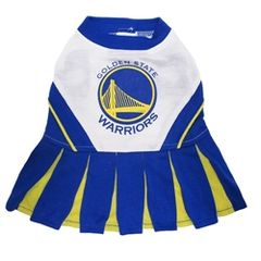 NBA - Basketball Cheerleading Uniform - Golden State Warriors