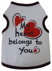 Tee Shirt - My heart belongs to you