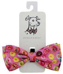 Bow Tie - Huxley & Kent Pink Donut Shop
