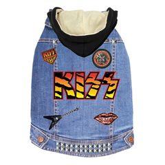 Kiss Denim Jacket