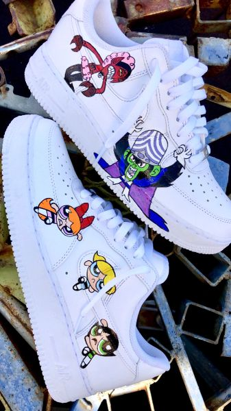 Hand Painted Air Force 1's Choose any 2 characters